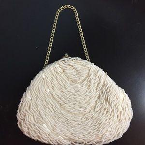 Vintage beaded evening bag.